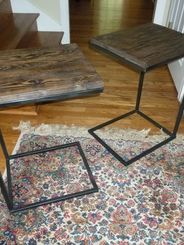 Versatile side tables 26.5hx15x18