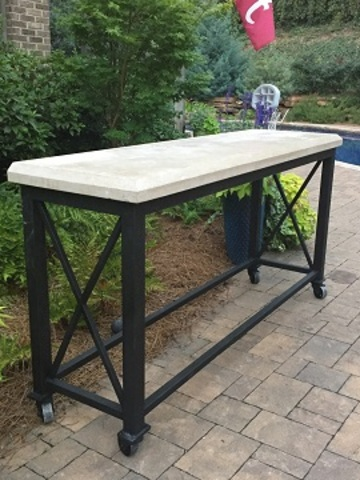 Granite top console   web